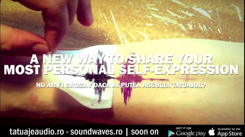 tatuaje audio, tatuaje sound waves, reda tatuajul, tatuaj, tattoo, soundwaves, soundwaves tattoo, tatuajeaudio
