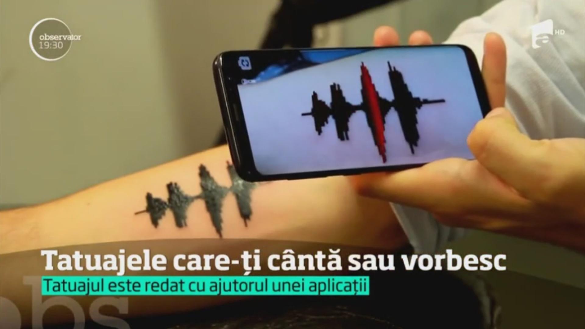 Imagini pentru tatuaj audio