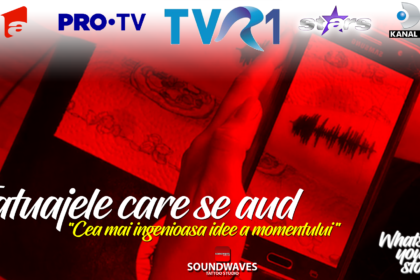 Tatuaje audio - Soundwaves Tattoo - Reportaj TVR1
