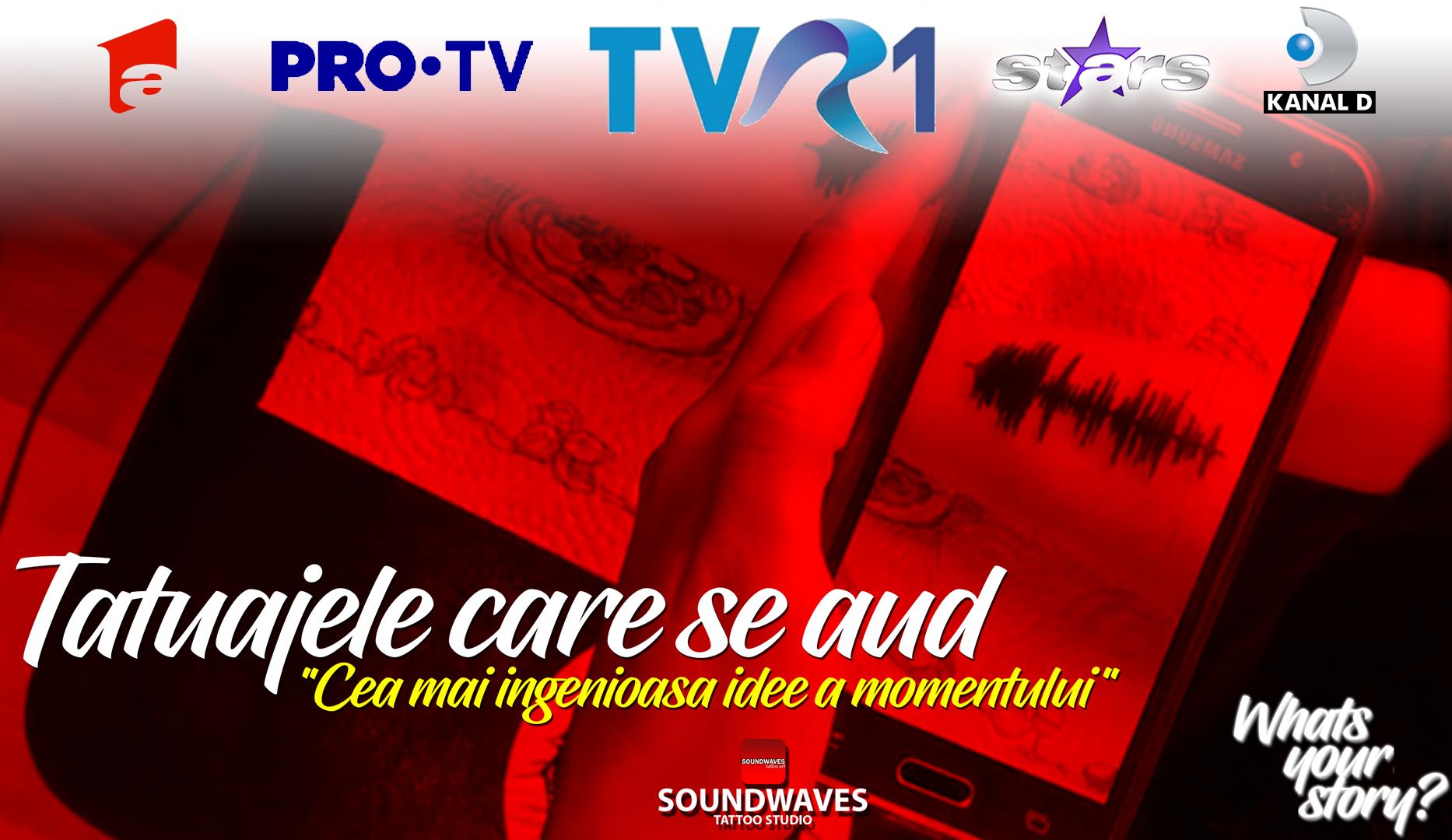 Tatuaje audio - Soundwaves Tattoo - Reportaj TVR1